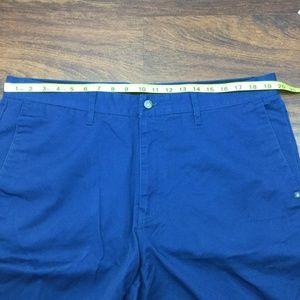 Volcom Shorts - Volcom Men's Solid Blue Casual Walking Shorts